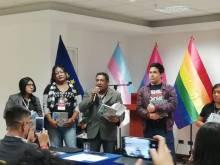 El equipo #IGUAL, presente en el encuentro #AdelanteConLaDiversidadSexual, en Lima - Peru...